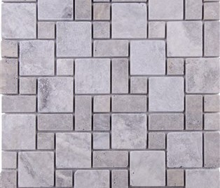 Mini Pattern Silver Travertine Tumbled (1) (314 x 314)